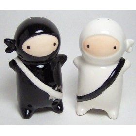 Ninja Salt & Pepper Set