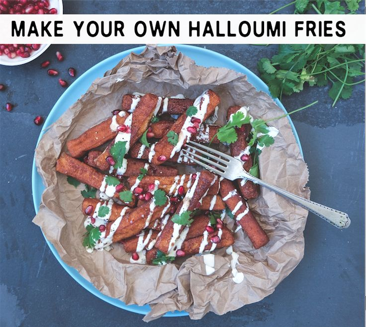 Halloumi fries are a delicious alternative to the average potato kind. Here's how to make your own.