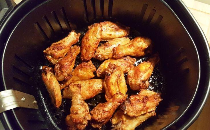 Better Than Hot Wings Café, Air Fryer Buffalo Chicken Wings
