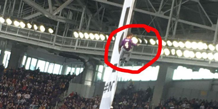High-Flying Dakota Pipeline Protesters Unfurled a Banner at the Vikings Game