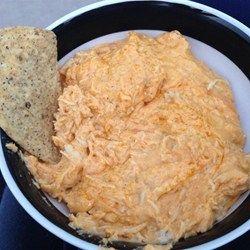 Buffalo Chicken Dip Recipe - Allrecipes.com  Used rotisserie chicken!!!