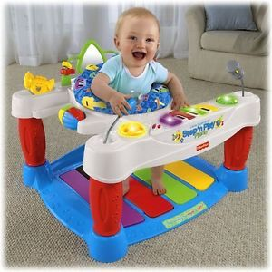 baby piano walker fisher price step n play infant musical activity center jayden is learning. Black Bedroom Furniture Sets. Home Design Ideas