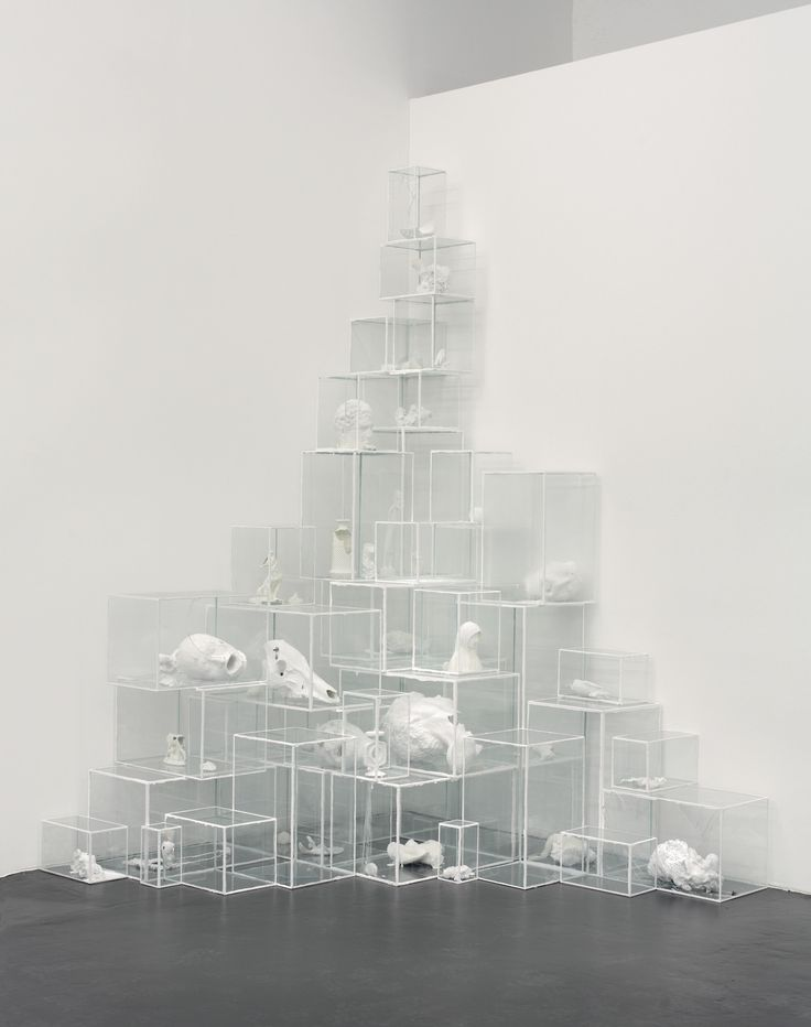 Terence Koh, Untitled (White Light #1), 2006.  architecture, cube, modern, contemporary design, installment, art