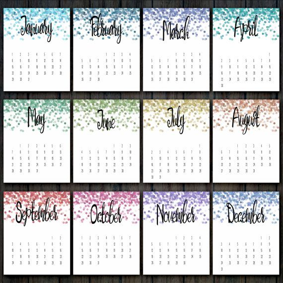 Desk Calendar Printables : Best printable calendars images on pinterest calendar