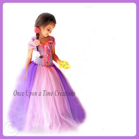 princess tutu dress photo prop baby halloween costume girls size 12 18 months 5 6 7 8 10 12 girly pink and purple - 4t Halloween Costumes Girls