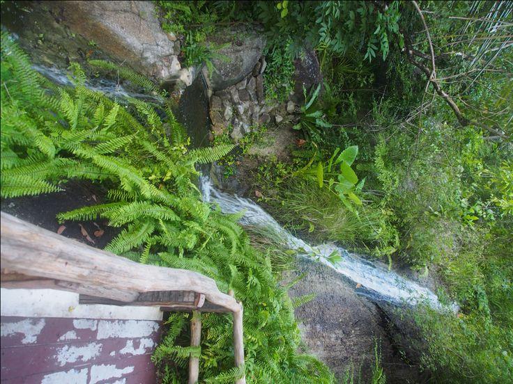 Siva Tara Waterfall & Valentine Love Stone. Beautiful spot for romantics to take photos with fabulous backdrops.http://www.welovekohsamui.com/listing/siva-tara-waterfall-valentine-stone/