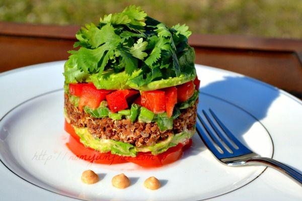 HealthyTaco less Salad. Nom yum yum