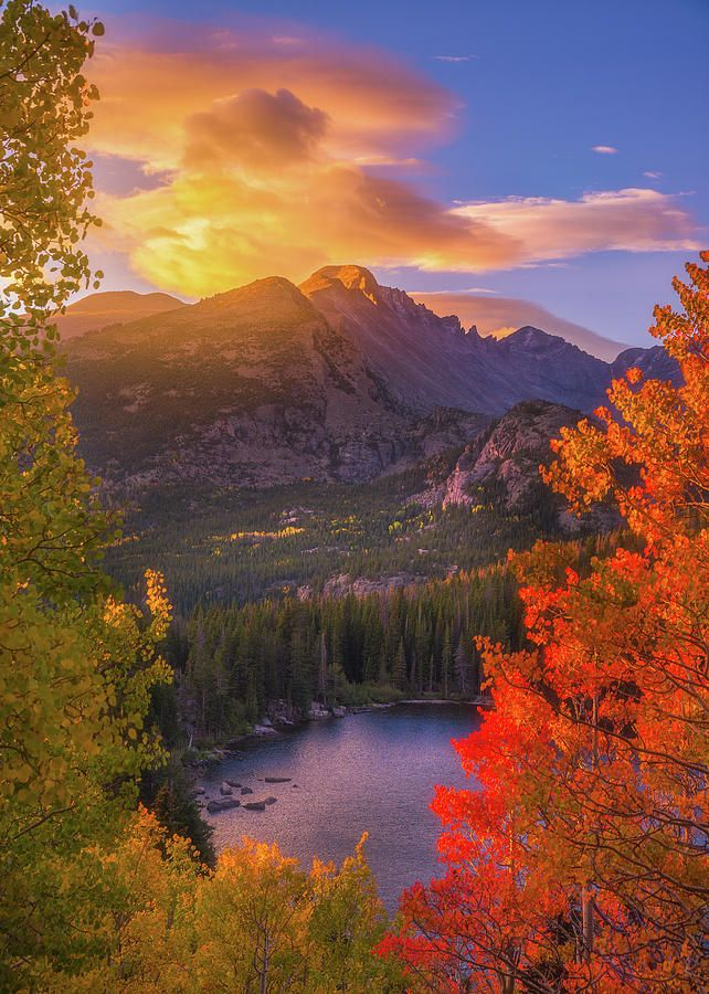 Rocky Mountain Sunrise By Darren White Fall Landscape Photography Mountain Landscape Autumn Scenery