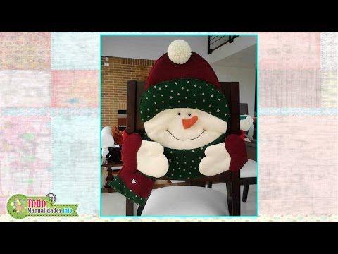 Cubre Silla Navideño Oso - YouTube