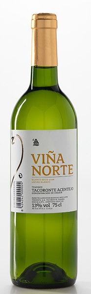 Viña Norte Blanco Seco 2012 (D.O. Tacoronte-Acentejo) #VinosdeTenerife
