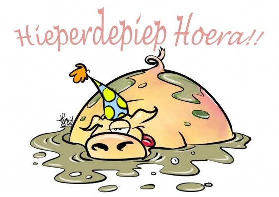 Hieperdepiep Hoera!! (© Harold Hugenholtz)