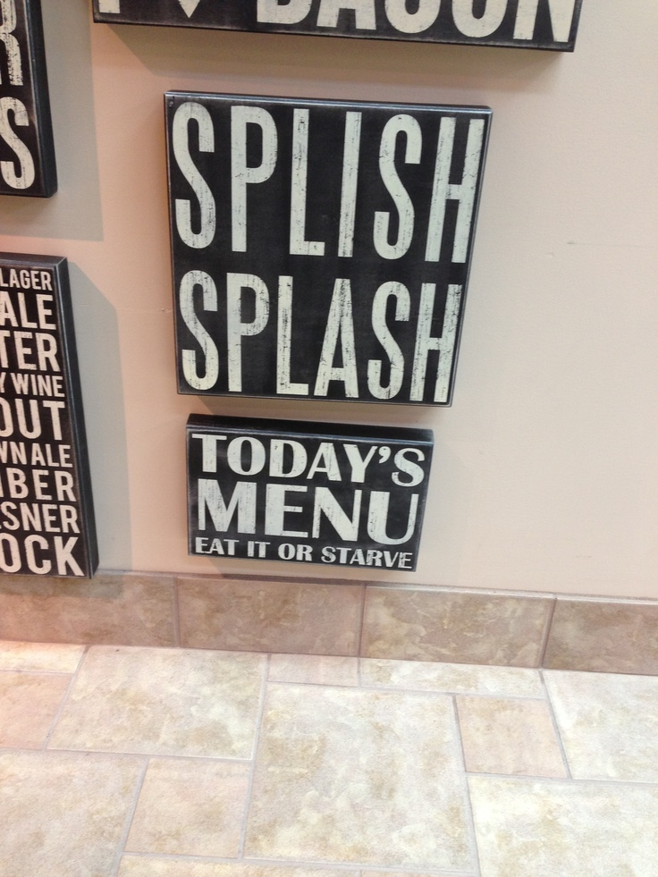 Bathroom And Kitchen Signs 24 best bathroom signs images on pinterest | bathroom signs