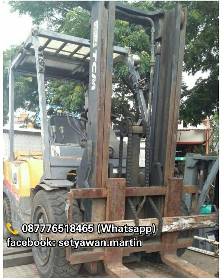 [ FOR SALE ] Forklift TCM 3 Ton Inoma, Manual, Lifting Height 3M, Diesel Engine Isuzu C240,  087776518465 (Whatsapp)