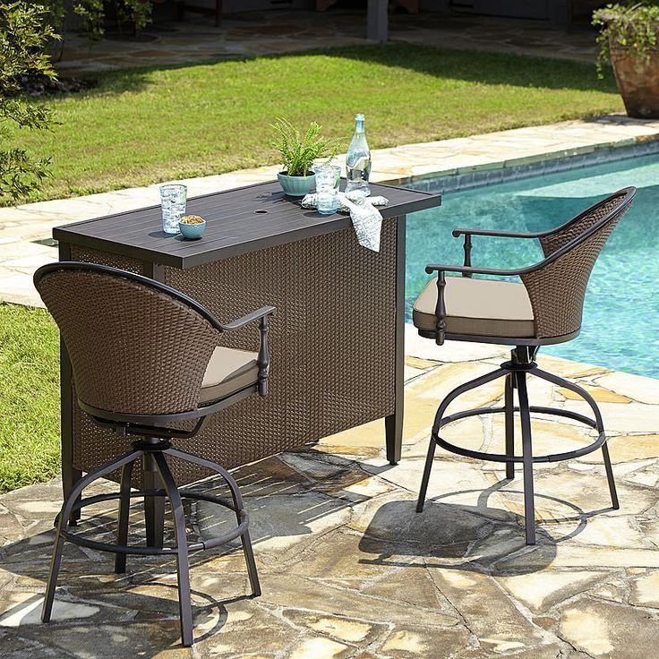 Mason Green Somerville 3 Piece Bar Set* Limited Availability. Bar Set3  PieceMasonsDeckOutdoor FurnitureOutletsOutdoor ...