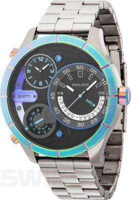 Multikolor Police.  #Police #PoliceWatch #colorful #silver #watch #watches #butikiswiss