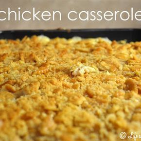 Chicken Casserole with Ritz Crackers – #Casserole …