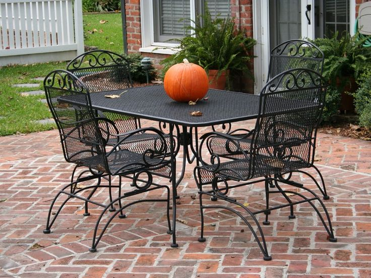 Best 25 Iron patio furniture ideas on Pinterest Traditional