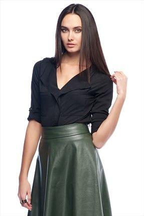 Haftalık Stil Rehberi by Olgun Orkun · Kadın Tekstil - Siyah Bluz O&O-5K133010 %60 indirimle 39,99TL ile Trendyol da