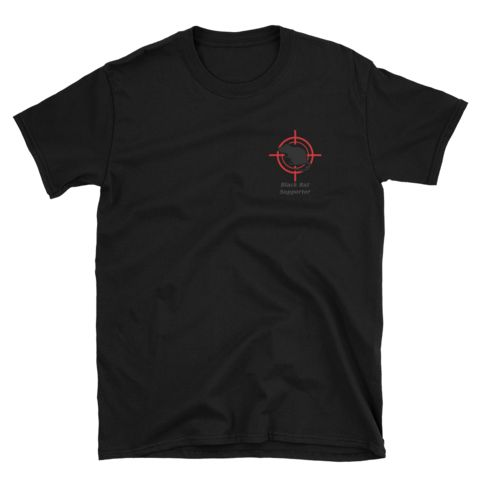 Black Rat Supporter - Unisex T-Shirt