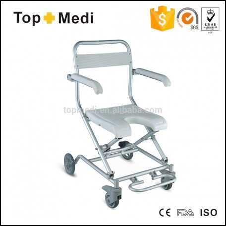Folding Shower Chair with Wheels
