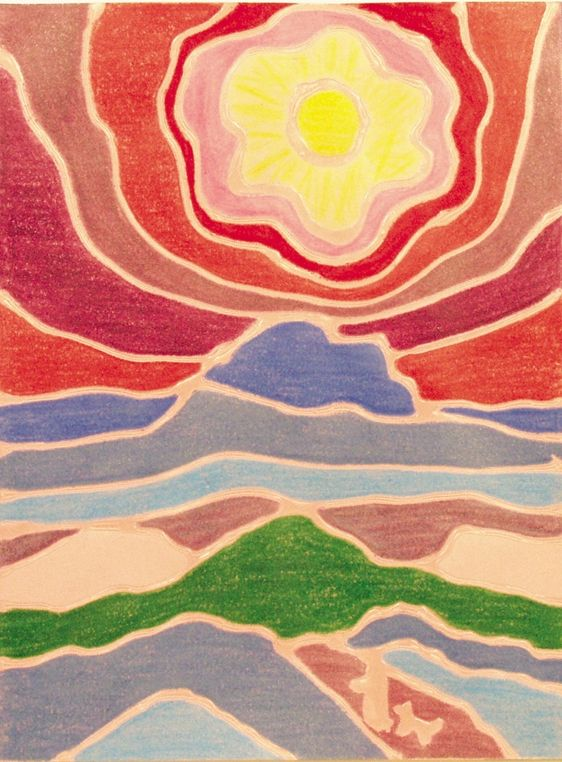 Canada unit... Luscious Layered Landscapes lesson plan (in style of artist Ted Harrison)