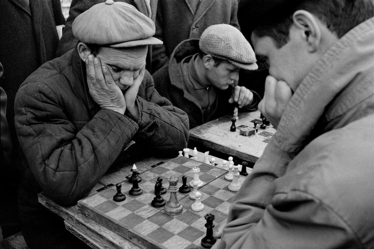 Gorky Park, Moscow, 1967.  [Credit:Bruno Barbey]