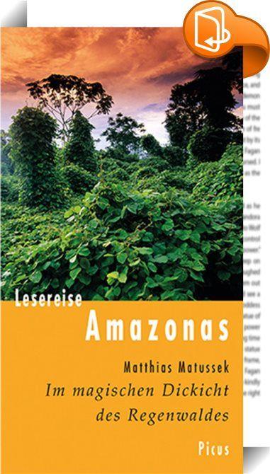 Lesereise Amazonas    :  Auf anstrengenden Erkundungstouren zu Wasser und zu Lande hat Matthias Matussek wie einst der Dschungelpionier Alexander von Humboldt eine der beeindruckendsten Regionen der Erde bereist. Nur »für Liebhaber schmutziger Saunas« könne diese »grüne Hölle« den Himmel bedeuten, meint er. Er lässt sich auf das Wuchern und Verschlingen des Urwalds ein und feiert drei ausgelassene Nächte lang mit Hunderttausenden den Indianerkarneval Boi-Bum-Ba. Auf dem Kontinent der s...
