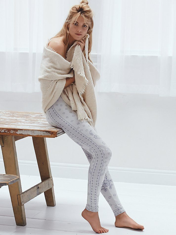 Free People Come As You Are Sweater Legging at Free People Clothing Boutique
