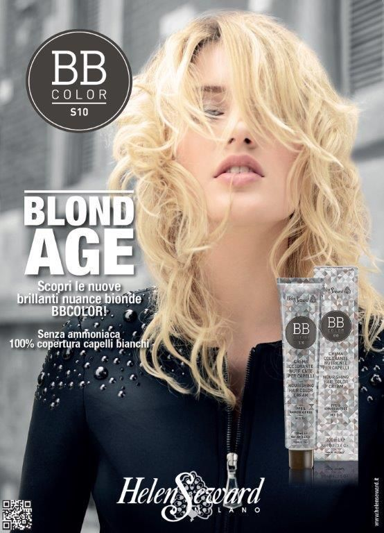 NEW: BLOND AGE! BBColor brightens up with new brilliant shade of blond! Find out all the new BBColor blondes!