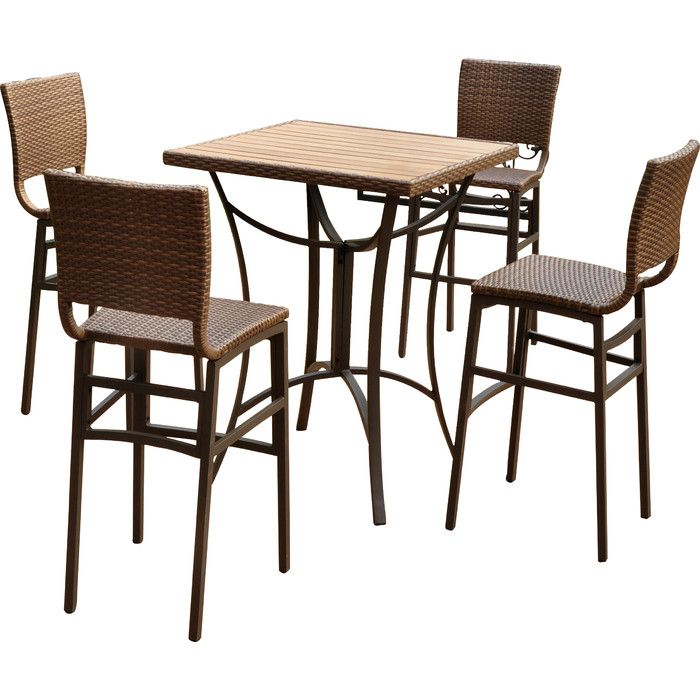 Beautiful Youu0027ll Love The Crosson 5 Piece Bar Set At Wayfair   Great Deals On