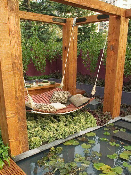 Adult swing set! Beautiful!