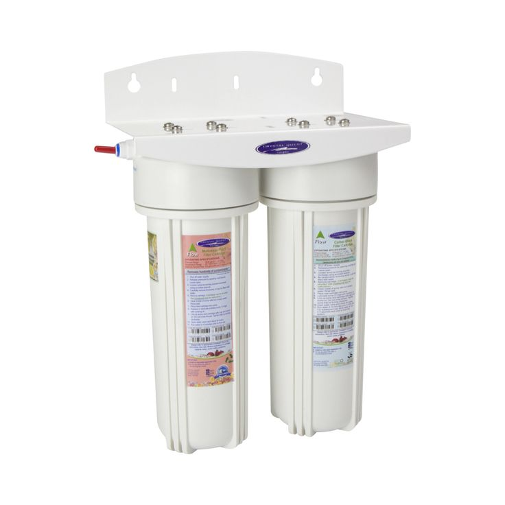 Commercial Double Inline Water Filter