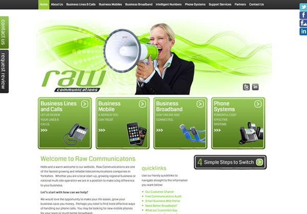 Raw Communications, Doncaster