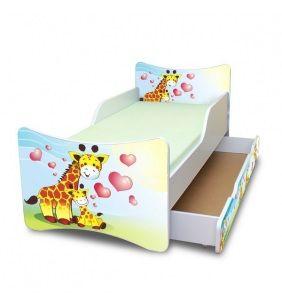 Posteľ Nellys ® - Žirafky II. so zásuvkou