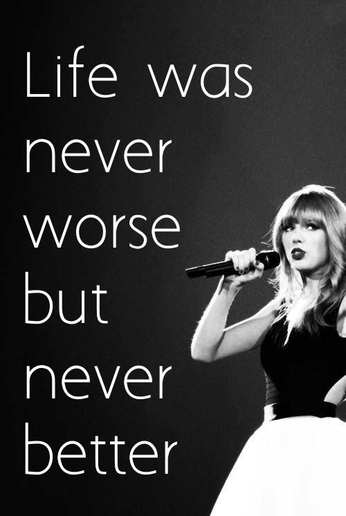 she sure can hit the most indescribable feelings right on the head! Her lyrics are flawless