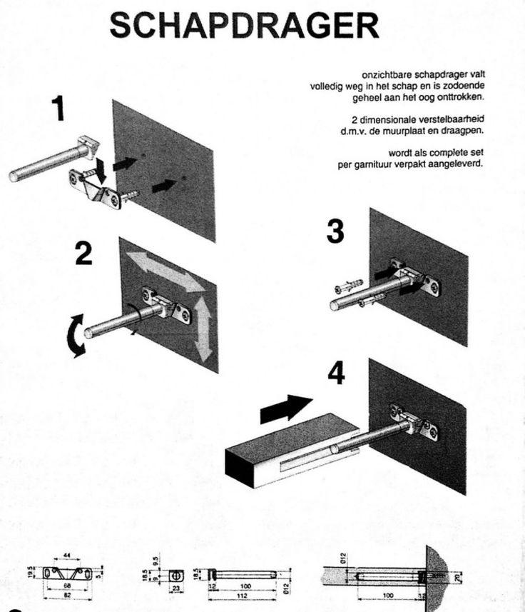 Keuken Wandplank Op Maat : Meer dan 1000 idee?n over Zwevende Planken op Pinterest – Zwevende