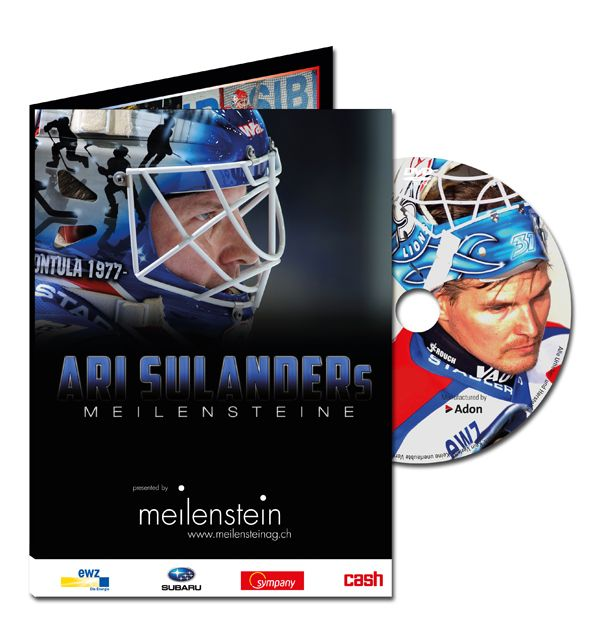 For Switzerlands most successful Ice-Hockey-Club ZSC Lions we did a DVD about the Story of the great ZSC-Goalkeeper Ari Sulander.