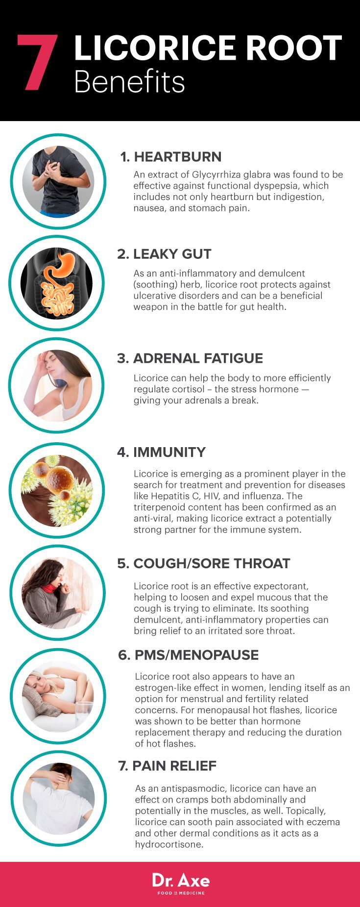 Licorice root benefits - Dr. Axe http://www.draxe.com #health #holistic #natural