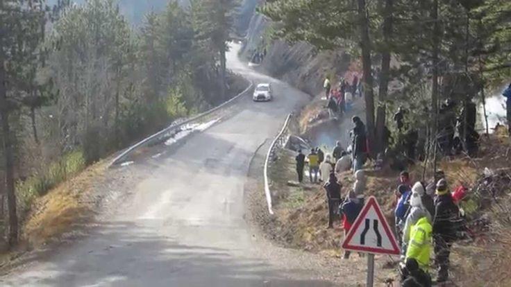 WRC  Rallye Monte Carlo 2015 + crash Robert Kubica