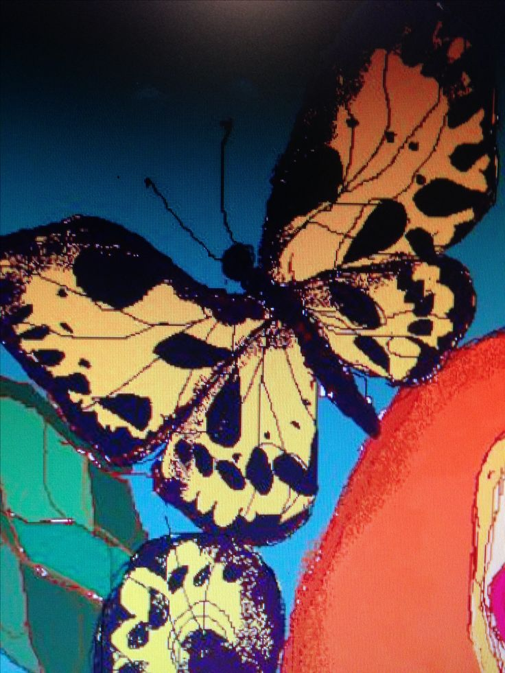 Dibujo realizado con programa paint. Marta Day