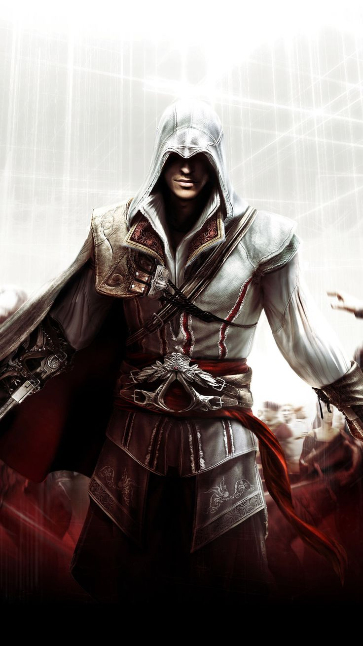 Ezio - Assassins Creed II Mobile Wallpaper 9891