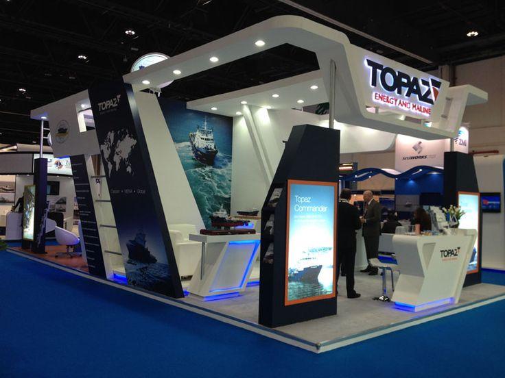 Exhibition Stand Design Devon : Topaz seatrade workboats dubai exhibition stand