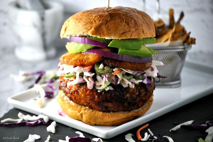 Vegan Hawaiian Burger