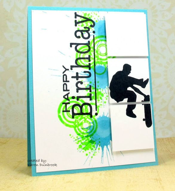 187 best Guy Cards Sports images – Papercraft Birthday Card