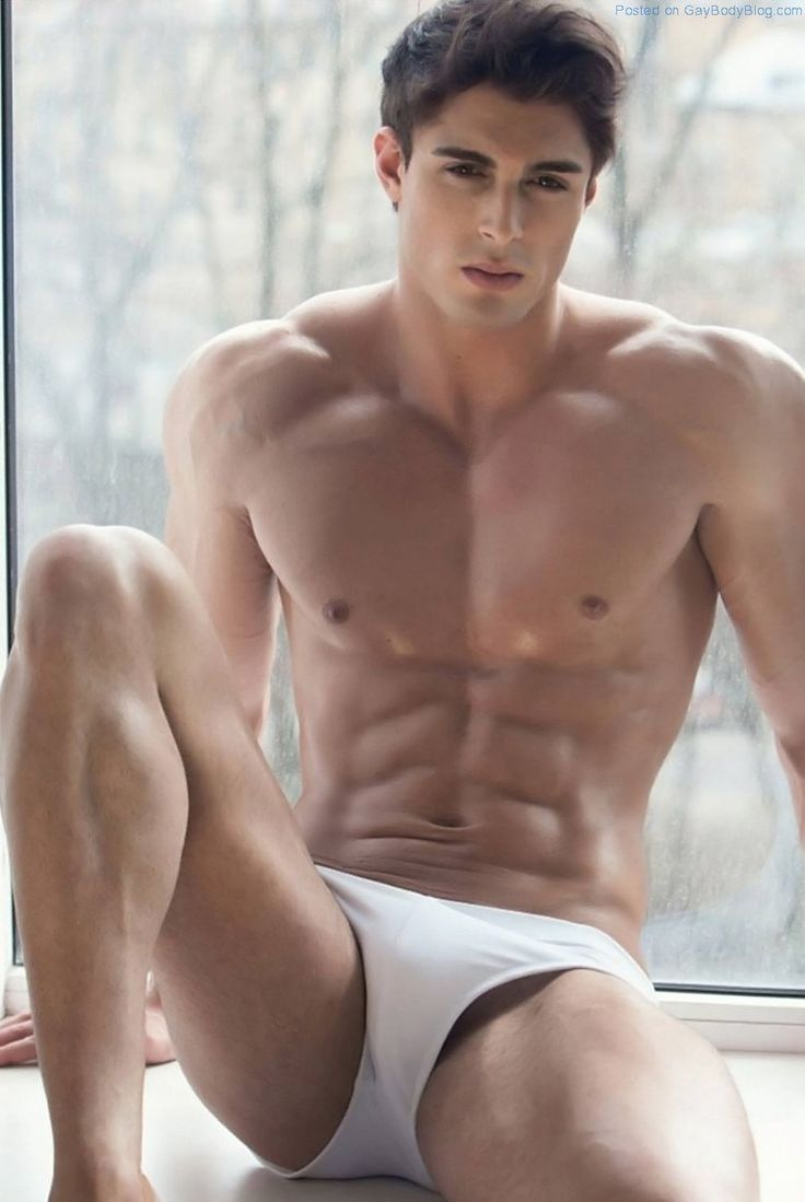 Muscled Jock Model David Lurs Looks Amazing 8