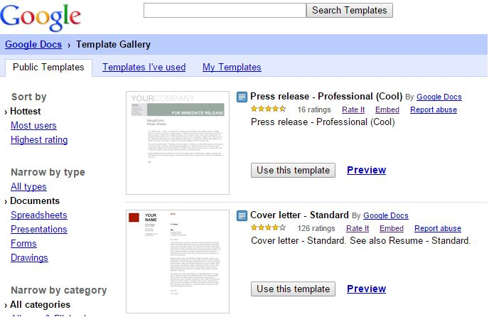 Save Time with Google Docs Templates