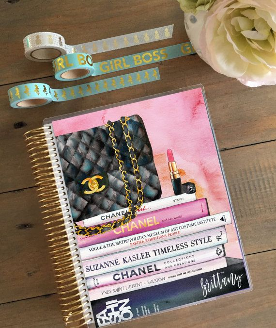 Fashion Planner Cover: Erin Condren Cover Sizes by StylishPlanner