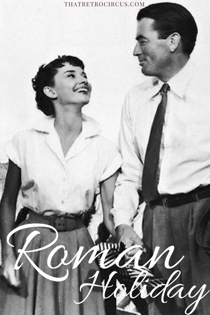 Roman Holiday, one of Audrey's best.  Read this article about the film on thatretrocircus.com!