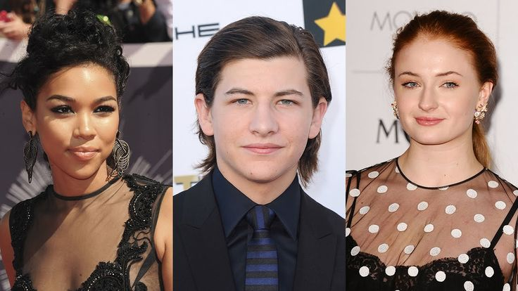 X Men Apocalypse Cast Young Storm, Cyclops & Jean Grey