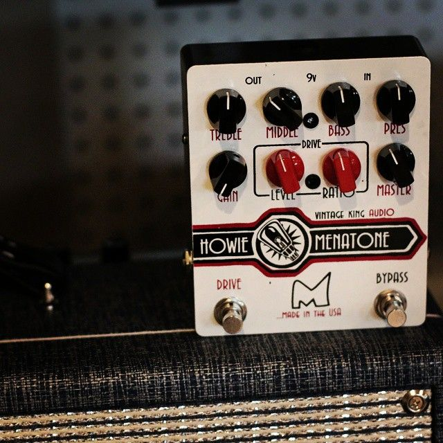 Vintage King is proud to offer a new and improved version of the groundbreaking Howie pedal from Menatone.